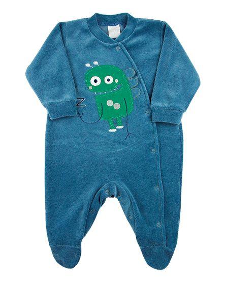Macacao-Bebe-Plush-Monstrinho-Azul-Jeans-11237