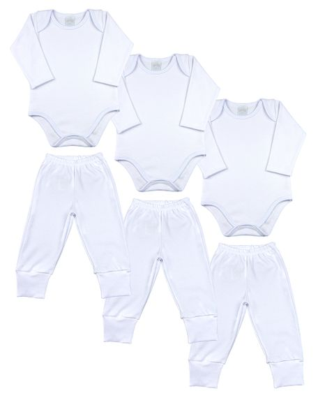 Kit-Bebe-6-pecas-3-Bodies-e-3-Calcas-de-Suedine-Branco-18103