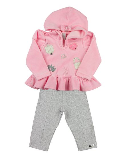Roupa-Bebe-Conjunto-Plush-e-Cotton-Ursinha-e-Bolsa-Rosa-13404
