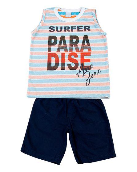 Conjunto-Infantil-Malha-Vanizado-Sunset-e-Tela-Paper-Surfer-Paradise-Turquesa-2829