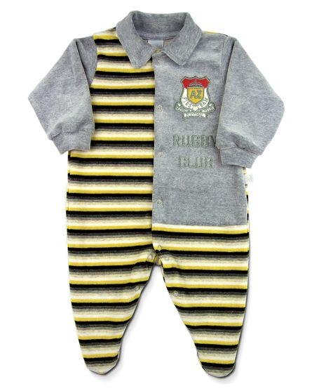 Macacao-Plush-Listrado-Rugby-Mescla-com-Amarelo
