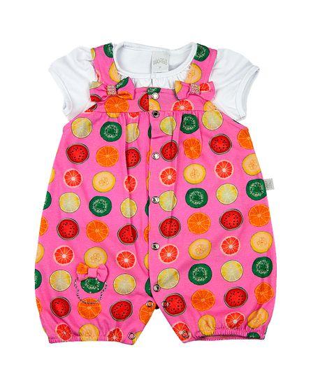 Salopete-Bebe-Malha-Estampa-Digital-Frutas-Ursinha-com-Lacinhos-e-Perolas-Rosa-10911