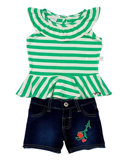Roupa-Infantil-Conjunto-Malha-Listrada-Capri-e-Indigo-Julia-Bordados-Flores-Verde-23807