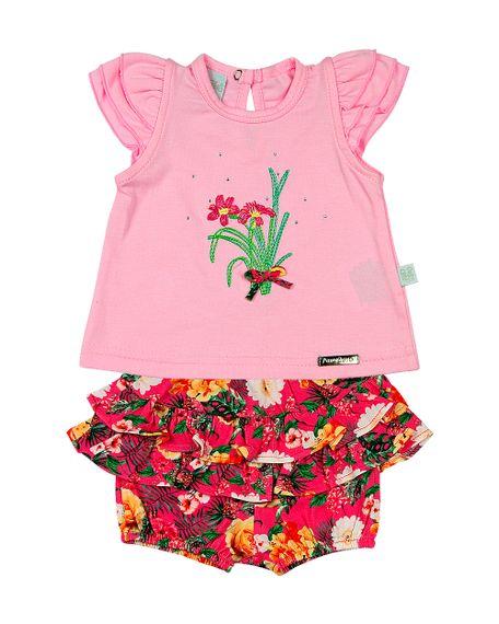 Roupa-Bebe-Conjunto-Cotton-e-Malha-Estampa-Digital-Tropical-Flores-Rosa-13302