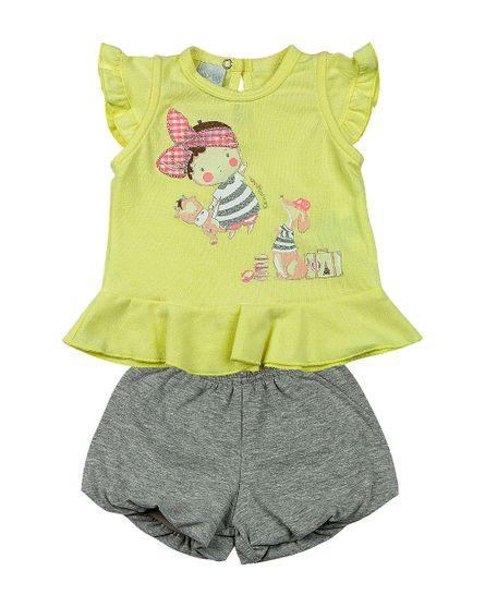 Roupa-Bebe-Conjunto-Cotton-Stone-Menina-com-Lacinho-Amarelo-13304