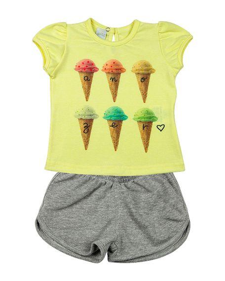 Roupa-Infantil-Conjunto-Cotton-Stone-e-Moletinho-Sorvetes-Amarelo-23305