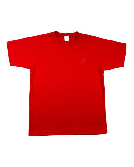 Camiseta-Infantil-Meia-Manga-Basica-Vermelho-24623
