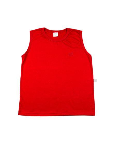 Camiseta-Infantil-Manga-Cavada-Basica-Vermelho-24624