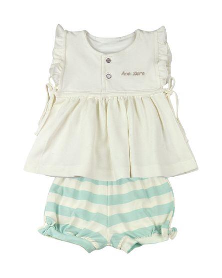 Conjunto-Bebe-Vestido-Piquet-e-Shorts-Cotton-Listrado-Classic-AZ-Natural-13512