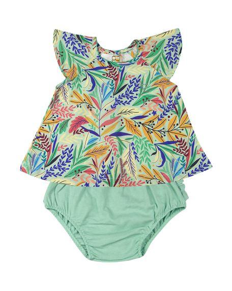 Conjunto-Bebe-Tricoline-Estampa-Digital-Folhas-Coloridas-e-Shorts-em-Cotton-Verde-13703