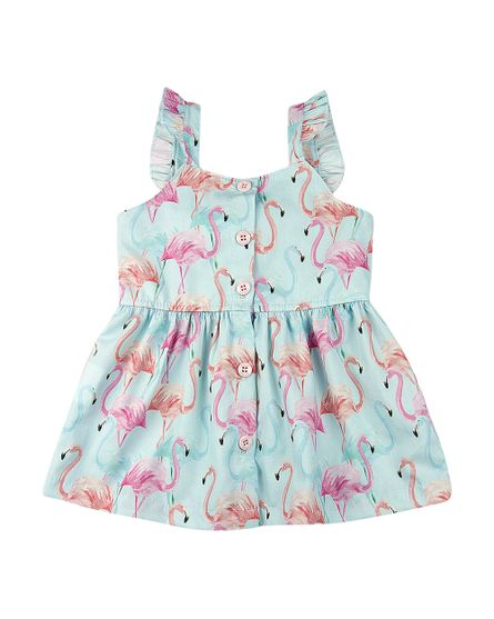 Vestido-Infantil-Estampa-Digital-Flamingos-Turquesa-23701
