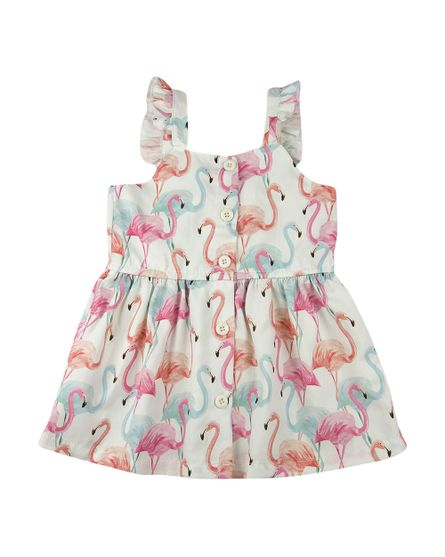 Vestido-Infantil-Estampa-Digital-Flamingos-Natural-23701