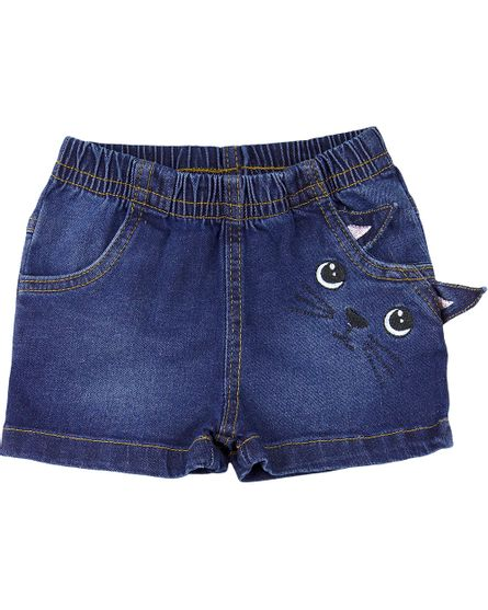 Shorts-Infantil-Menina-Indigo-Catarina-Bordado-Gatinha-Cor-Unica-25322