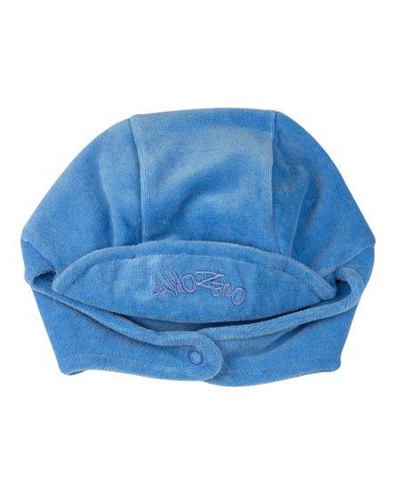 Touca-de-Bebe-Unisex-com-Protetor-de-Orelhinha-Azul-19243