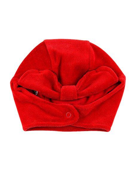 Touca-de-Bebe-Menina-com-Protetor-de-Orelhinha-Vermelho-19244