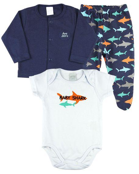 Conjunto-Bebe-Menino-Suedine-Estampado-e-Liso-3-Pecas-Tubaroes-Baby-Shark-Marinho-18108