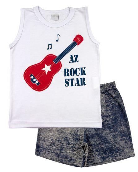 Pijama-Infantil-Menino-Meia-Malha-e-Malha-Estampada-AZ-Rock-Star-Vermelho-27600