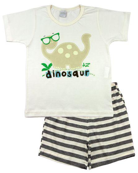 Pijama-Infantil-Menino-Meia-Malha-e-Malha-Listrada-Silk-Refletivo-Dinosaur-Mescla-27601