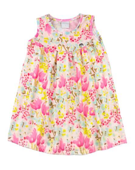Camisola-Infantil-Malha-Estampa-Floral-Rosa-27906