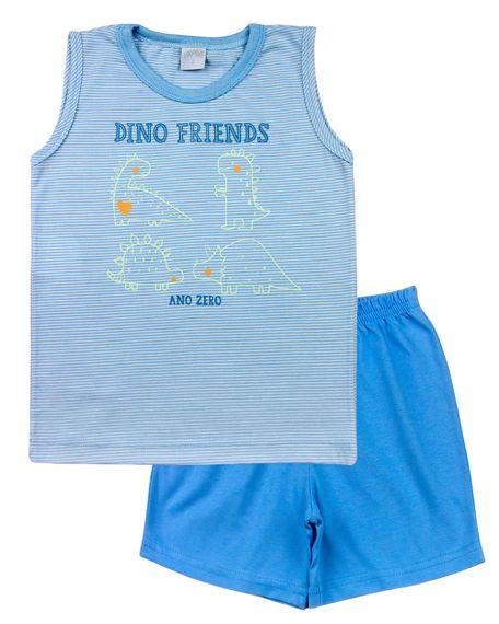 Pijama-Infantil-Menino-Malha-Listrada-Estampa-Refletiva-Dino-Friends-Azul-27803