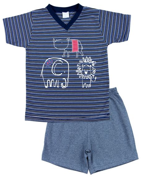 Pijama-Infantil-Menino-Malha-Listrada-Silk-Rinoceronte-Elefante-e-Leao-Marinho-27804