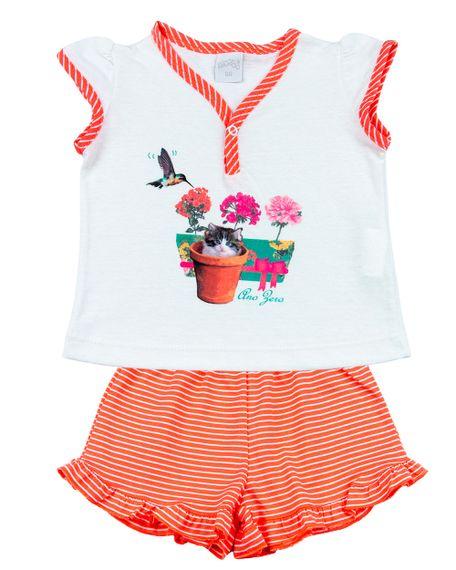 Pijama-Infantil-Menina-Malha-Lisa-e-Listrada-Beija-Flor-e-Gatinho-Coral-27805
