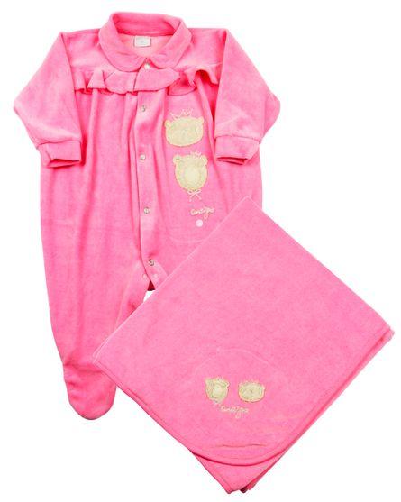 Jogo-Saida-Maternidade-Bebe-2-Ursinhas-Rosa-Escuro-12005