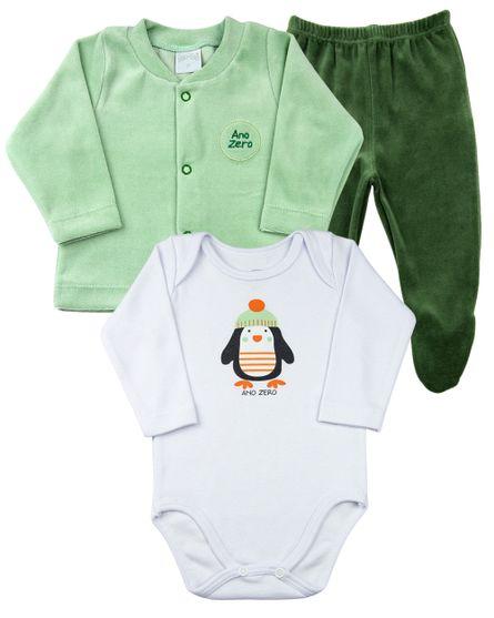Conjunto-Bebe-Plush-e-Suedine-Silk-Screen-Pinguim-Verde-18209
