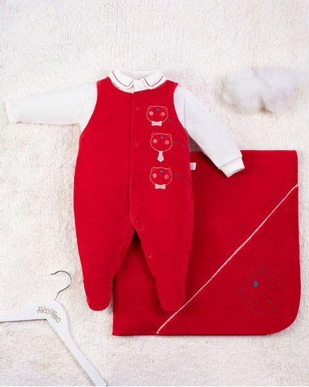 Saida-Maternidade-Menino-Veludo-Ondule-Bordada-Ursinhos-Vermelho-10002