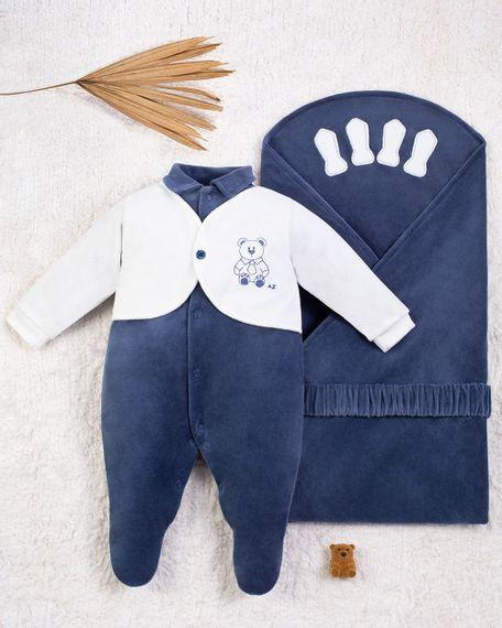 Saida-Maternidade-Menino-Plush-Ursinho-de-Gravata-Azul-Jeans-10005