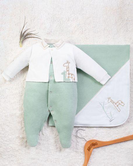Saida-Maternidade-Menino-Plush-2-Girafas-Verde-10006