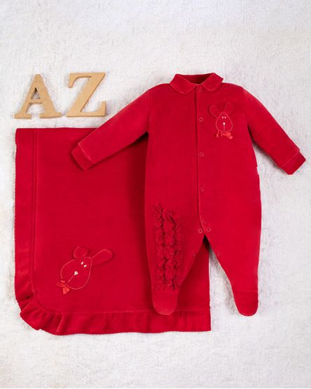 Saida-Maternidade-Menina-Plush-Bordado-Coelhinha-Vermelho-10009