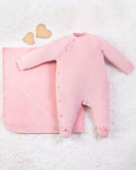 Saida-Maternidade-Menina-Plush-Bordado-Coracoes-Salmao-10013