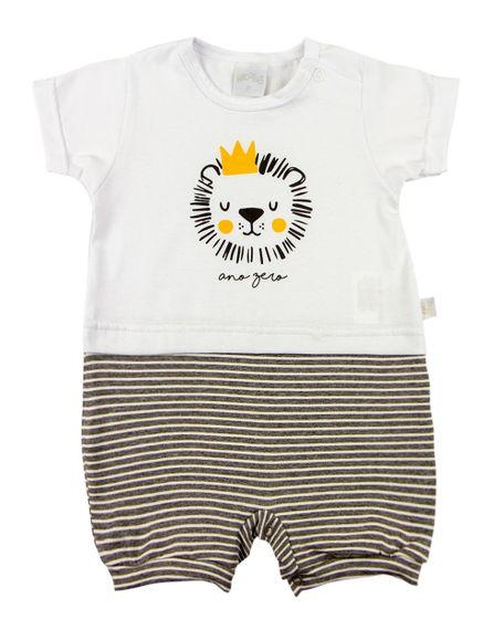 Macacao-Bebe-Cotton-e-Malha-Listrada-Fleece-Leao-Grafite-10830